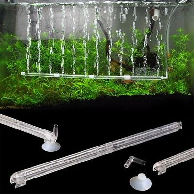 Bubble Wall Tube Air Oxygen Stone Curtain Aquarium Fish tank Cylinder Airstone