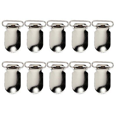 10 pcs Pacifier Suspenders 1.5 inches Clips