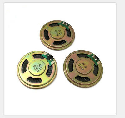 2pcs Mini Loudspeaker 8Ω 0.5W Doorbell Speaker Buzzer Original Diameter 40mm