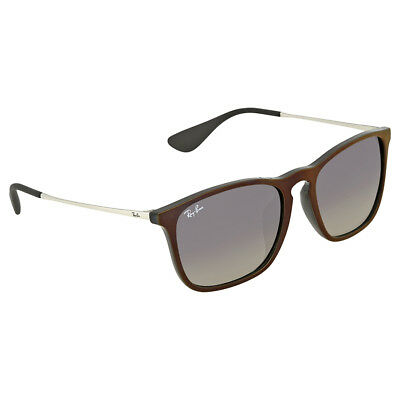 Ray-Ban Chris Grey Gradient Square Mens Sunglasses RB4187F 631611 54