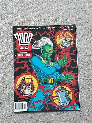 2000AD Winter Special from 1993 with Judge Dredd and more