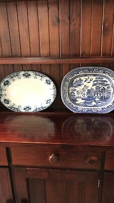 Blue and white porcelain Platters