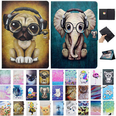 "Smart Leather Card Slots Wallet Stand Case Cover For iPad 9.7""2018/Air 1 2/Mini"