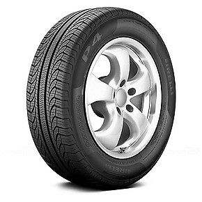 Pirelli P4 Four Seasons Plus P185/65R15 88T BSW (4 Tires)