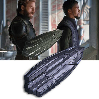 2018 Avengers 3 Infinity War Captain America New Shield PVC Cosplay Adult Props