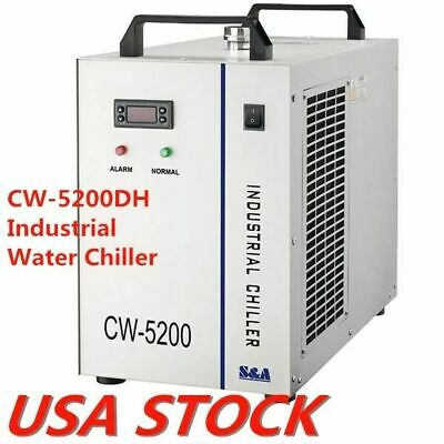 US - CW-5200DH Water Chiller AC 110V 60Hz Industrial Water Chiller