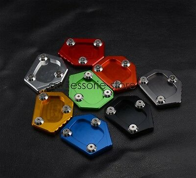 Kickstand Side Stand Extension Plate Pad For Honda NC700S/X  CB500F/X CBR500R