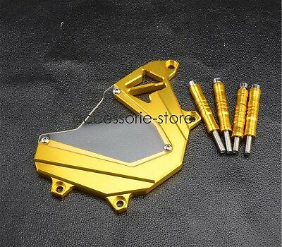 Front Sprocket Cover Chain Guard Protector For Kawasaki Z800 2012-2014 2013