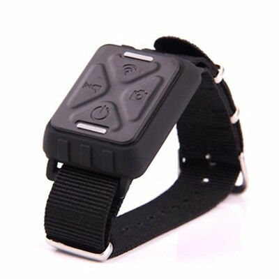 UK Wireless Wrist Remote Control Watch for GitUp Git1 /Git2 Sports Camera Black