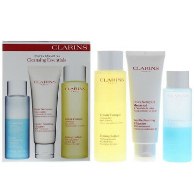 Clarins Travel Exclusive Cleansing Essentials Gift Set - Damaged Box