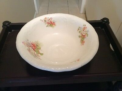 Antique Grimwade's Wash Basin beautiful rose floral pattern p/up Central Coast