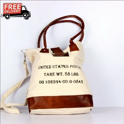 New Handcrafted Canvas Cloth Bag With Handle Casual Tote Bag Daily Use 1614