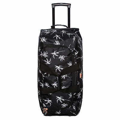 Billabong Sway Palm Wheeled Travel Bag in Black