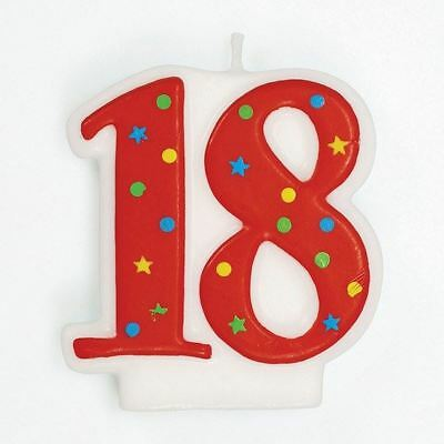 18th Birthday Cake Candle Number 18 for party decoration