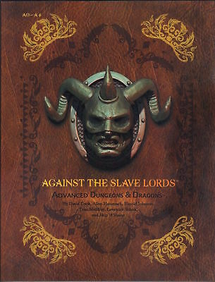 AGAINST the SLAVE LORDS Advanced Dungeons & Dragons Premium TSR A1 A2 A3 A4