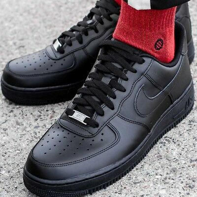 1 001 Nike Air Hommes Chaussures 315122 '07 Noir Force Sport oQdxrBWCe