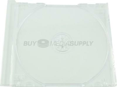 Replacement Clear Trays for Standard CD Jewel Case - 10 Pack