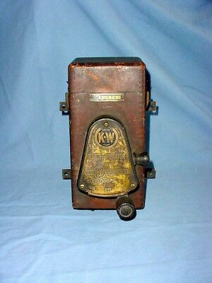 K-W Vintage Spark Plug Dash Ignition Switch Coil Box Marsh Motors Buffalo NY