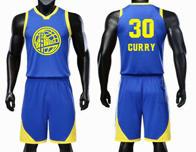 separation shoes 0707c a397c KIDS BOY YOUTH Stephen Curry #30 Basketball Jersey W/ Short Set, 4Xs-M