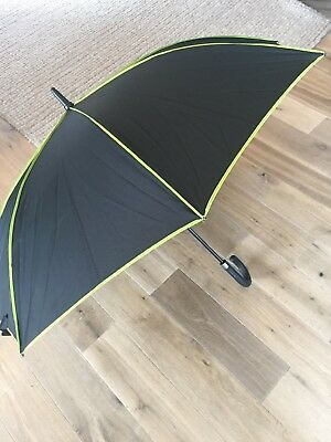 Oliver Sweeney Umbrella Pre Owned But Excellent Black Automatic