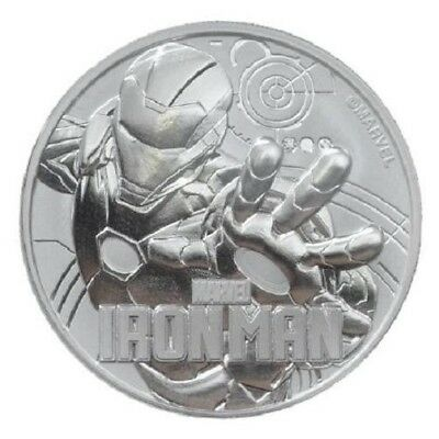 TUVALU 1 Dollar Argent 1 Once Iron Man 2018