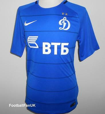 DYNAMO MOSCOW Nike Home Football Shirt 2017-2018 NEW Jersey Moskva 2017/18