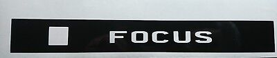 """/""""YOUR NAME/"""" FOCUS/"""" MK1 THIRD BRAKE LIGHT STICKER//OVERLAY-LOOKS AWESOME"""
