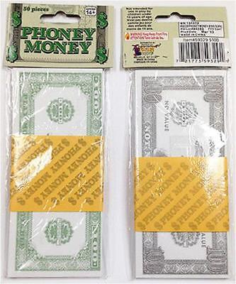 Fake Paper Bills Phoney Money 100s $ £ Monopoly Rapper Bank Robber Prop Play