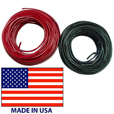 14 Gauge Black Primary Wire AWG Stranded Copper 25 FT PowerPath Made In USA