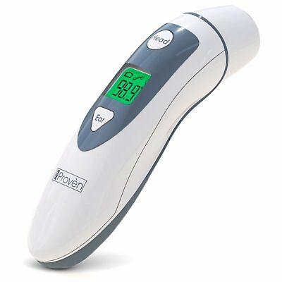 Medical Ear Thermometer with Forehead Function - iProven DMT-489 - Upgraded