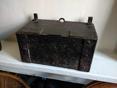 Original 17th Century Nuremburg Iron Church Offertory Box