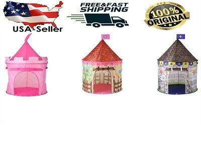 Princess Castle Play House Pink Large Indoor/Outdoor Kids Play Tent