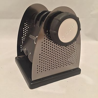 Rolodex Business Card Holder Wood & Metal Rotating W/170 Card Holders NEW No Box