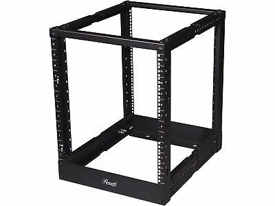 "Rosewill 4 Post Open Frame Rack, Depth-Adjustable (22"" - 40"")"
