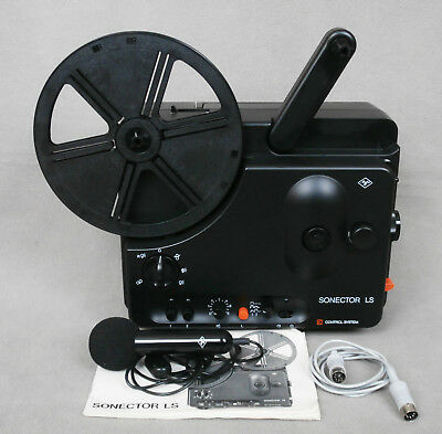 Boxed Agfa Sonector LS Super 8 Control System 8mm Sound Cine Film Projector