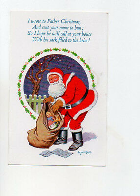 Donald Mcgill Christmas card no 3016 Unposted