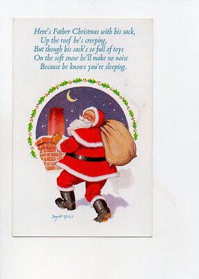 Donald Mcgill Christmas card no 3017 Unposted