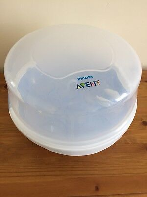 AVENT Microwave Steam Steriliser in Vgc - Baby Bottle Sterilisers