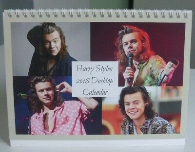 10 x HARRY STYLES ONE DIRECTION 2018 A5 DESKTOP CALENDAR - LIMITED EDITION