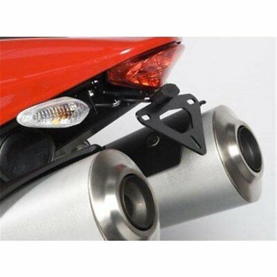 Support de plaque r&g noir monste... R&g racing LP0097BK DUCATI 696 MONSTER DARK