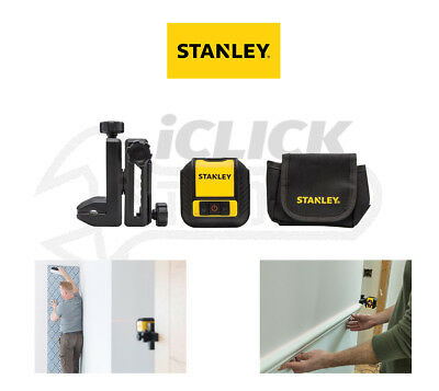 Stanley INT177498 Cubix™ Cross Line Laser Level (Red Beam) STHT77498-1 New