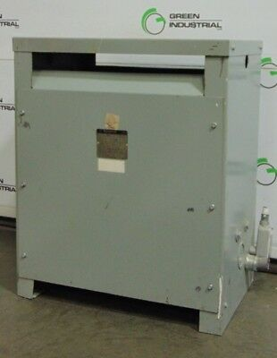 45 KVA Dry Type Transformer 480 Delta 208Y/120 V48M28T45H USED TESTED