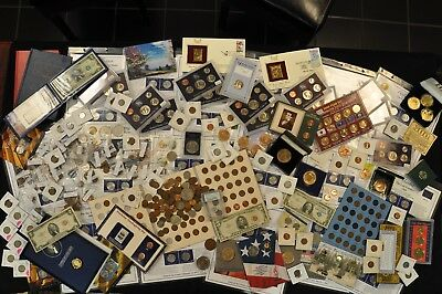 Large U.S. Coin Collection, U.S. Type Coin and Currency Lot