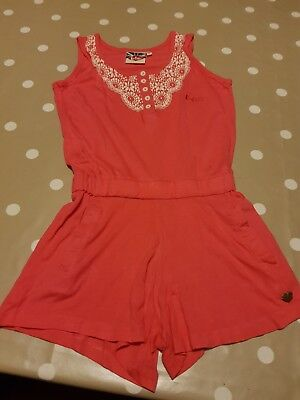 Girls playsuit age 7-8 years. By Lee Cooper.