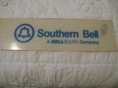 Southern Bell telephone payphone sign