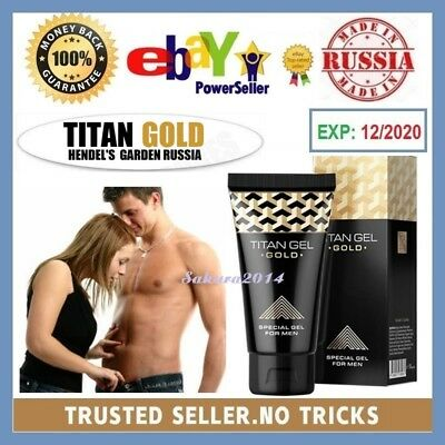 titan gel lubricant for men original with hologram by hendel s