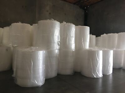 "Bubble Cushioning Wrap 1/2""- 250 ft x 12"" perforated every 12"" MADE IN U.S.A"