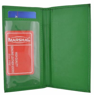 Basic Checkbook Cover Green NEW