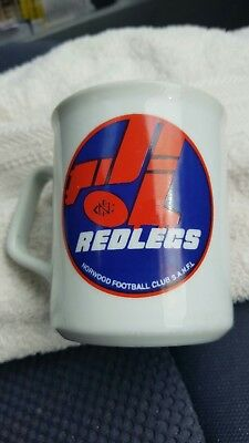Norwood Football Club SANFL Vintage 1980's double sided football mug. Excellent