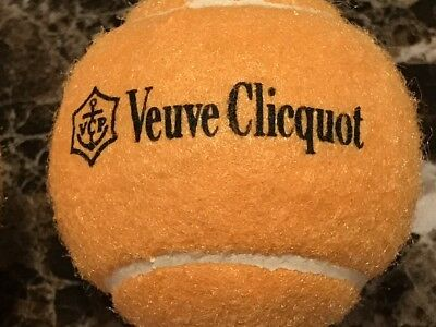 Veuve Clicquot Champagne Vcp Signature Rare 3 Pack Tennis Balls New Sealed